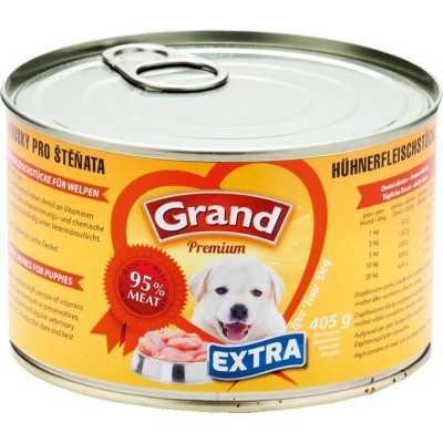 GRAND Premium Extra pro štěňata 405g