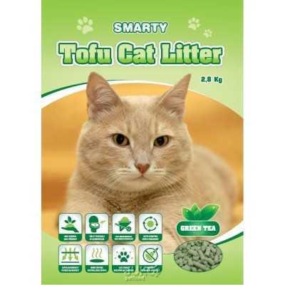 Smarty Tofu Cat Litter-Green Tea-podestýlka 6lt