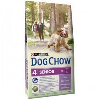 DOG-CHOW 14kg SENIOR JEHNĚČÍ a rýže