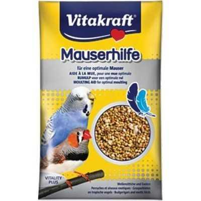 Vitakraft Mauserhilfe perličky na přepeření pro andulky