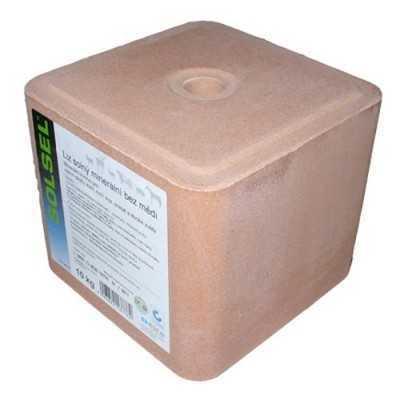 Sůl lisovaná 10kg-šedá