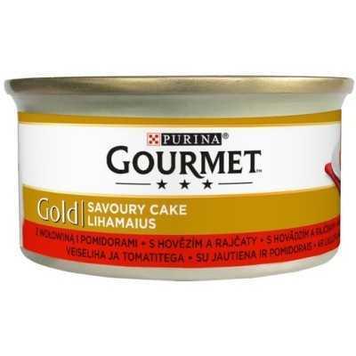 GOURMET GOLD Savoury Cake 85g hovězí a rajčata