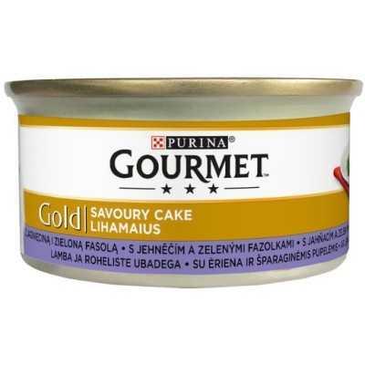 GOURMET GOLD Savoury Cake 85g  jehněčí a zelené fazolky